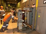 Practical tests for electricians at EVRAZ ZSMK